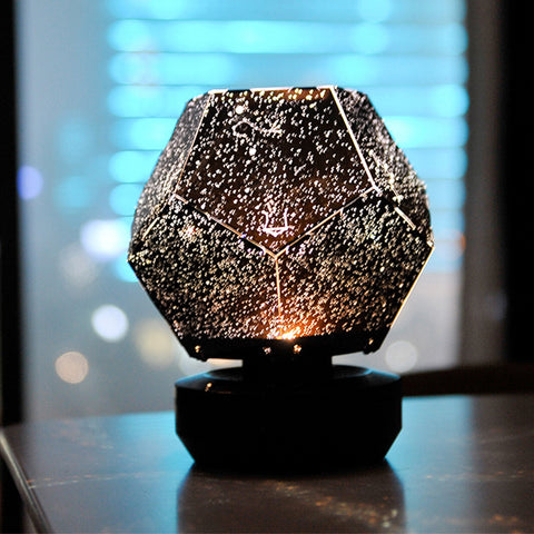 Image of 3D Moon Light Music Star Projector Lamp Star Light Romantic Creative Gift