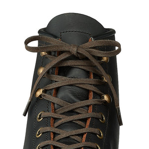 RED WING 48-inch brown flat waxed boot laces