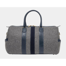 Load image into Gallery viewer, MONTE & COE wool weekender bag
