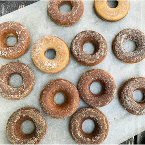 FARM STEADY apple cider doughnut mix