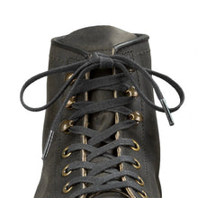 Load image into Gallery viewer, RED WING 48-inch black flat waxed boot laces
