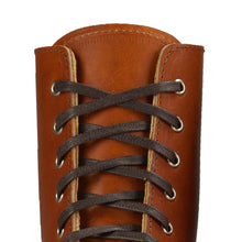 Load image into Gallery viewer, RED WING 48-inch brown flat waxed boot laces