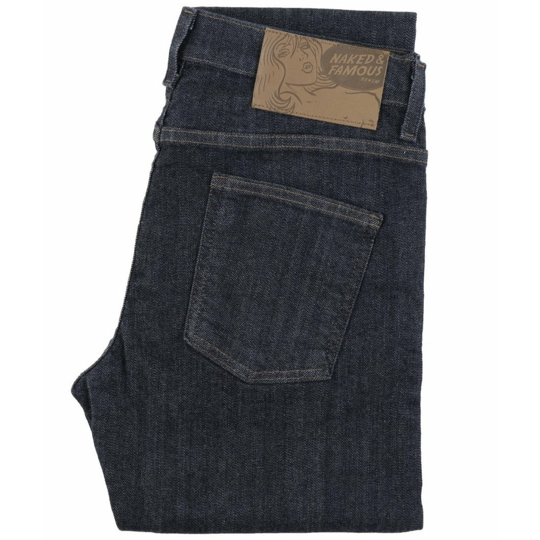 NAKED & FAMOUS Stacked guy hyper flex stretch selvedge