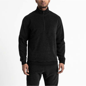 REIGNING CHAMP Knit Polartec Fleece Half Zip Pullover