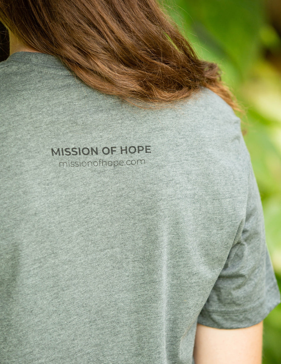 MISSION OF HOPE BADGE TEE
