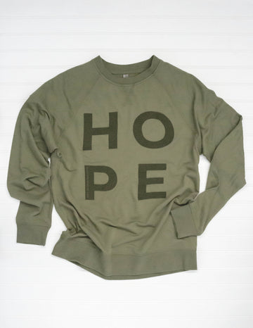 HOPE LIGHTWEIGHT RAGLAN PULLOVER