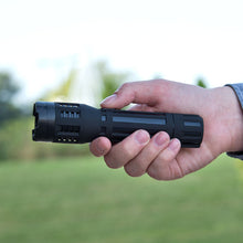 Load image into Gallery viewer, Military Sabre tactical stun gun LED flashlight combo