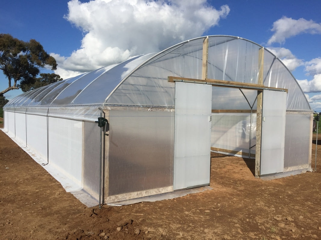 Greenhouse Plastic Clear Poly Film UV Resistant 6mil 4 Year 90% Light  transmission - 20 x 25 Feet