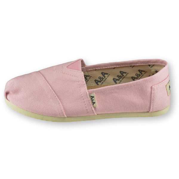 11f96b6376a Pink Slip On Canvas Shoes for Women