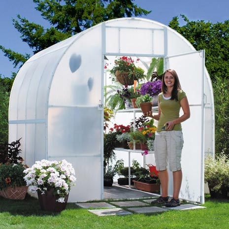 Greenhouse Plastic White Poly Cover Film UV Resistant 6mil 4 Year 55% Shade  - 20 x 50 Feet