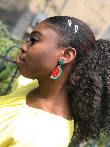 Sweet Watermelon Earrings