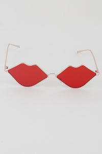 Pucker Up Sunglasses (Red)