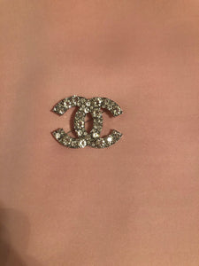 Bling Chanel Inspired Brooch