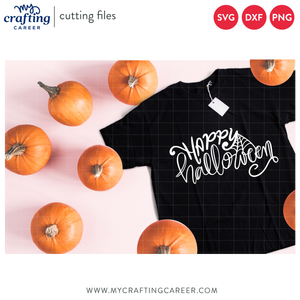 Happy Halloween Cutting File