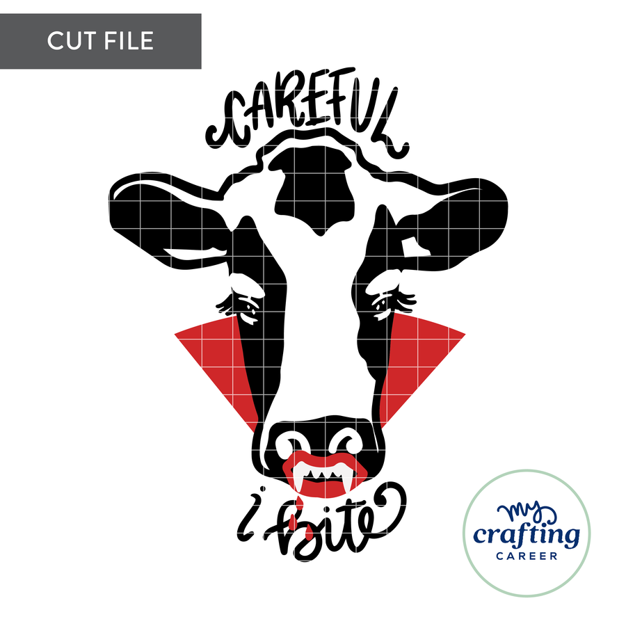 Dracula Heifier SVG Cutting File