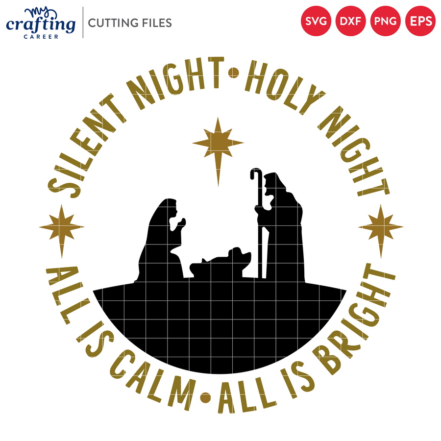 Silent Night SVG
