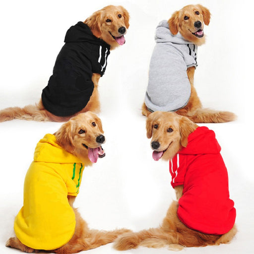 Winter Warm Large Dog Clothes