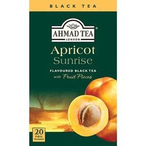 Ahmad Apricot Sunrise Flavored Black Tea 20 Tea Bags