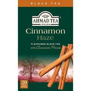 Ahmad Cinnamon Haze Flavored Black Tea 20 Tea Bags
