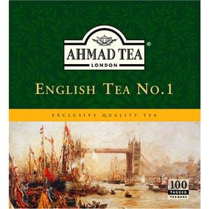 Ahmad English Tea No. 1 - 100 Tagged Tea Bags