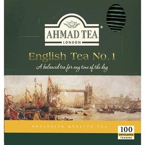Ahmad English Tea NO.1 100 Tea Bags (Enveloped)