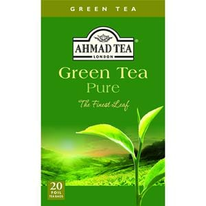 Ahmad Green Tea Pure The Finest Leaf 20 Foil