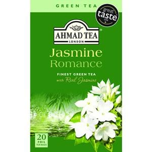Ahmad Jasmine Romance Finest Green Tea with real Jasmine