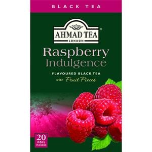 Ahmad Raspberry Indulgence Flavoured Black Tea