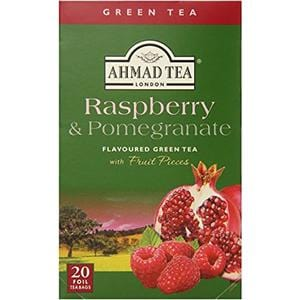 Ahmad Raspberry & Pomegranate flavored Green Tea 20 T/B