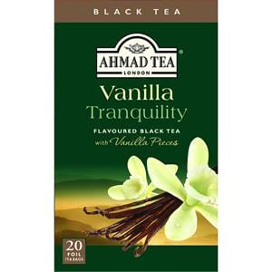 Ahmad Vanilla Black Tea 20 Tea Bags 1.4 oz.