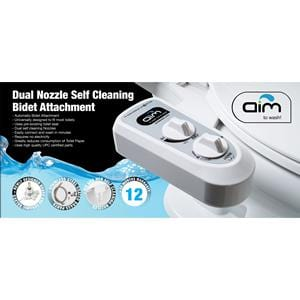 Aim to Wash Automatic Bidet Self Cleaning