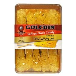 GOLCHIN SAFFRON CANDY WITH STICK
