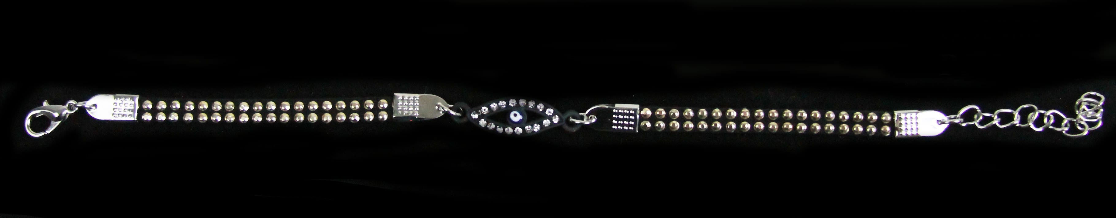Black Blue Eye Bracelet
