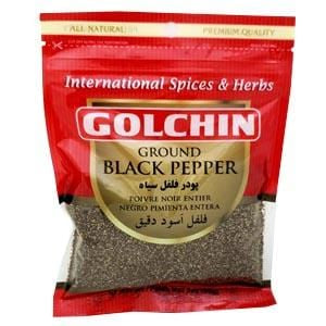 Golchin Black Ground Pepper
