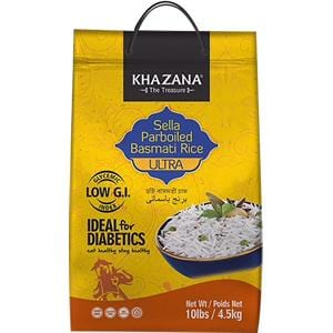 Khazana The Treasure Sella Parboiled Basmati Rice Ultra