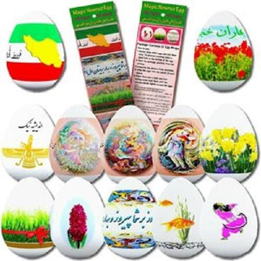 Magic Eggs Stickers