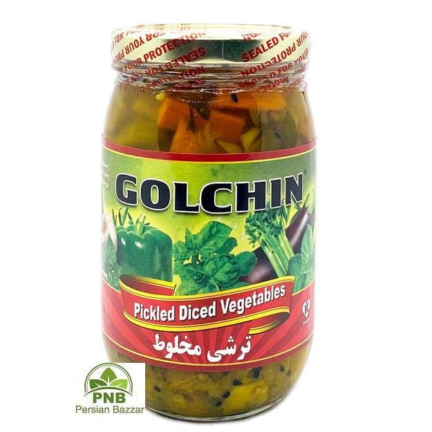 Golchin Mixed Pickled Vegetables