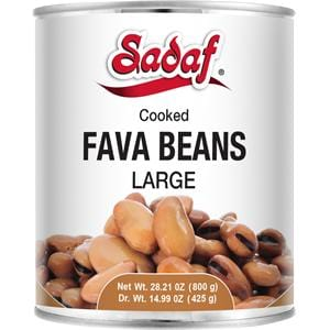 Sadaf Fava Beans Large (Cooked)