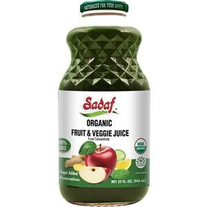 Sadaf Organic Fruit and Veggie Juice 32 oz.