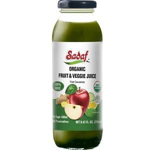 Sadaf Organic Fruit and Veggie Juice 8.45 oz.
