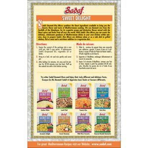 Sadaf Basmati Rice Mix Sweet Delight - Shireen Polo