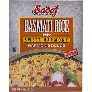 Sadaf Basmati Rice Mix Sweet Harmony
