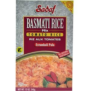 Sadaf Basmati Rice Mix Tomato Rice - Estamboli Polo