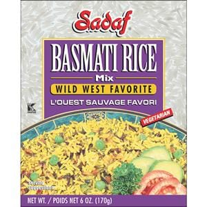 Sadaf Basmati Rice Mix Wild West Favorite