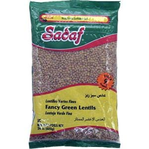 Sadaf Fancy Green Lentils