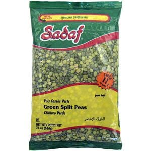 Sadaf Green Split Peas