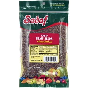 Sadaf Hemp Seeds Toasted