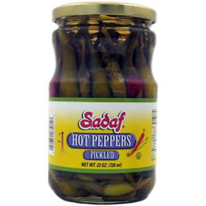 Sadaf Hot Peppers Pickled