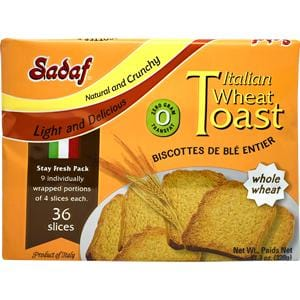 Sadaf Italian Wheat Toast