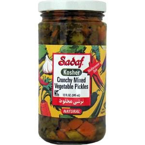 Sadaf Kosher Crunchy Mixed Vegetable Pickles